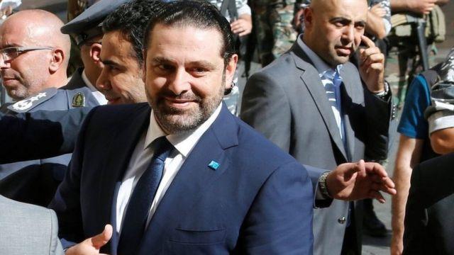 زعيم تيار المستقبل سعد الحريري