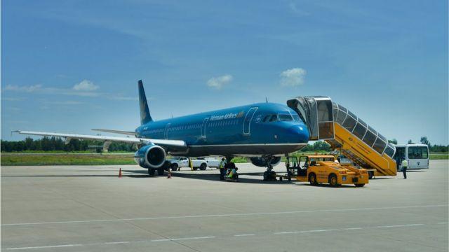 Một máy bay của Vietnam Airlines (hình minh họa)