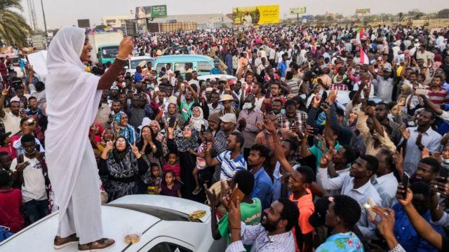 Les femmes ont joué un grand rôle lors des manifestations au Soudan (Photo d'archives)