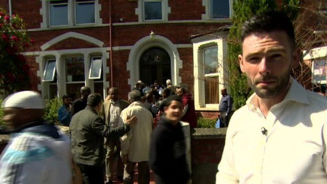 Rick Faragher speaks to Muslims living in Northern Ireland