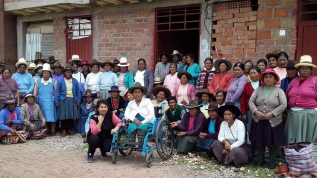 Victims of forced sterilisations in Anta, Cusco department