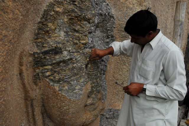 पाकिस्तान के स्वात में गौतम बुद्ध की प्रतिमा