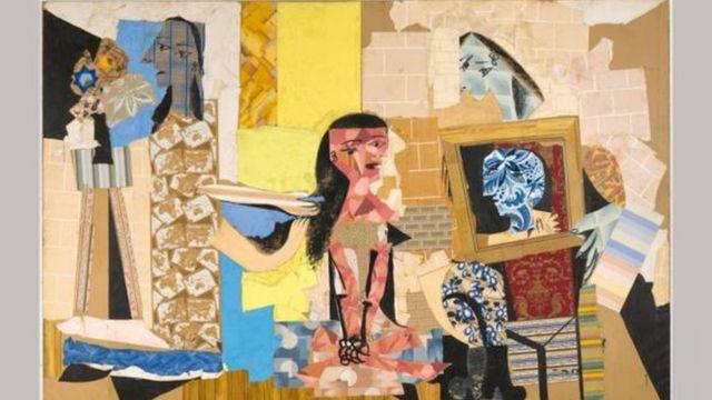 Colagem de Picasso