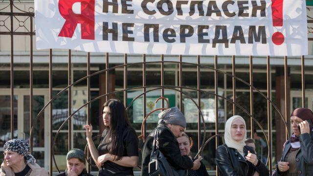 Суд в Ингушетии признал неконституционным решение о границе с Чечней