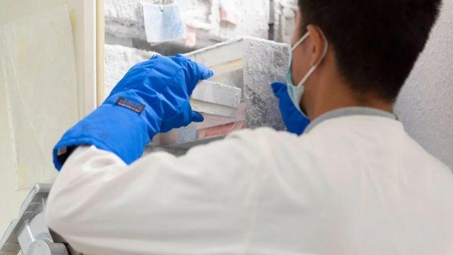 Tim Duong sedang mencari pendanaan untuk proyek deteksi patogen mereka berikutnya.