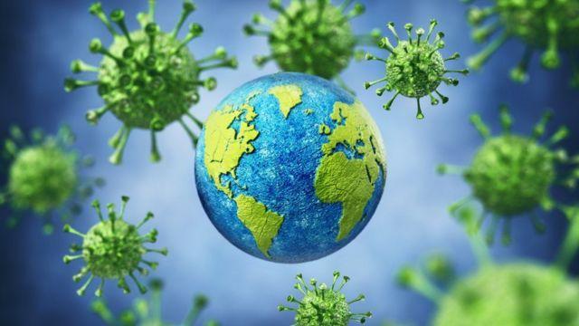 新冠病毒在全球传播不断发生病毒变异(Getty Images)