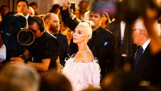 Lady Gaga在威尼斯电影节