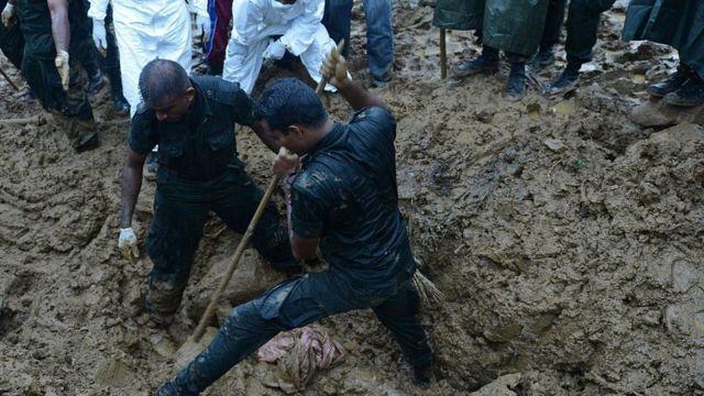 2014-இல் பதுளையில் ஏற்பட்ட நிலச்சரிவு பெரும் பொருள் மற்றும் உயிர் சேதத்தை ஏற்படுத்தியது