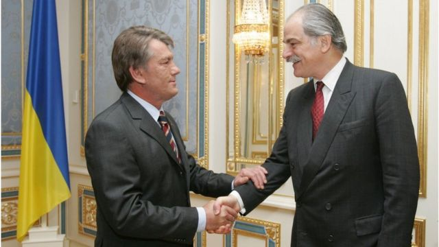 Виктор Ющенко и Джон Липски