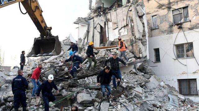 Sismo En Albania El Terremoto Más Fuerte En Décadas En El País Deja Más De Una Decena De Muertos Bbc News Mundo