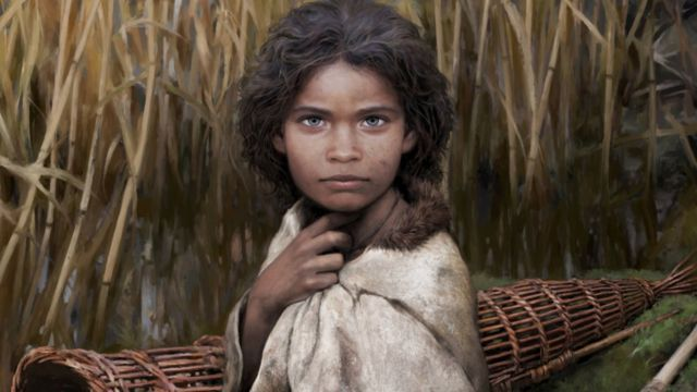 """An artist has made a reconstruction of the woman, who has been nicknamed """"Lola"""""""