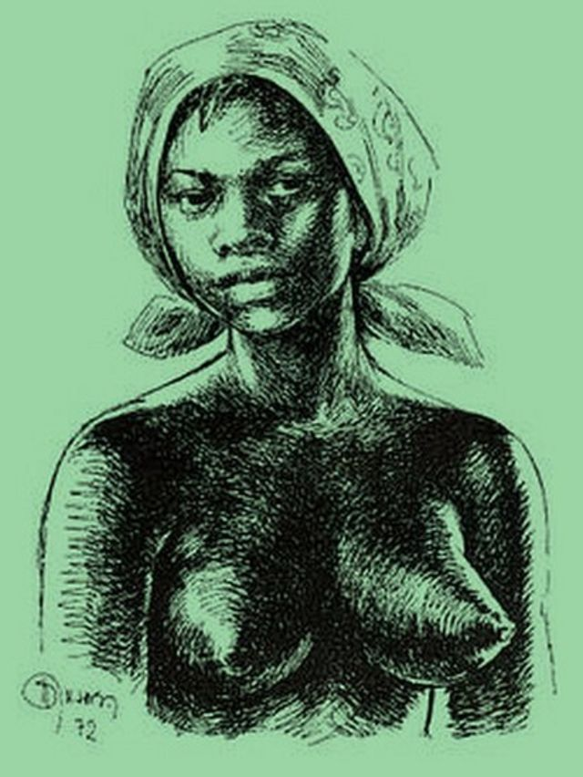 Ilustração de Dandara