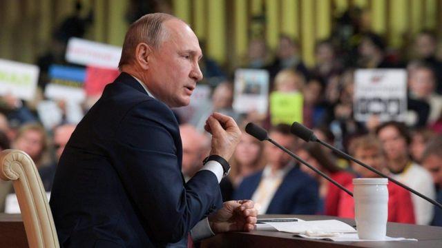 مؤتمر بوتين الـ15 استمر حوالي أربع ساعات