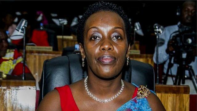 Uwari minisitiri w'ubuzima mu Rwanda, Diane Gashumba
