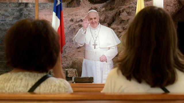 Cartel del Papa