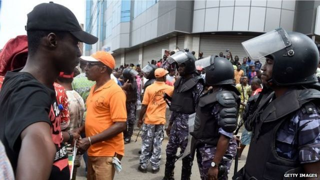 Protesters for Lome, September 7th