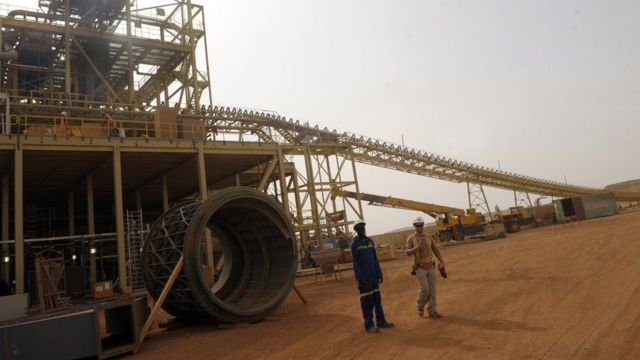 Mina de oro en Burkina Faso