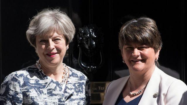 Theresa May, Arlene Foster