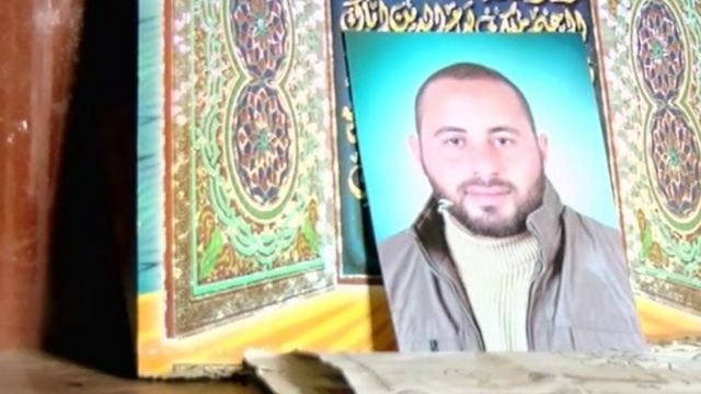 Mohammed's family say he was killed by Egyptian security forces.