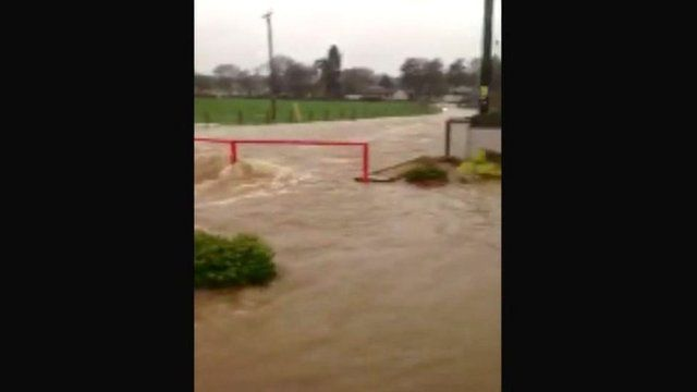 Flooding in Tarland