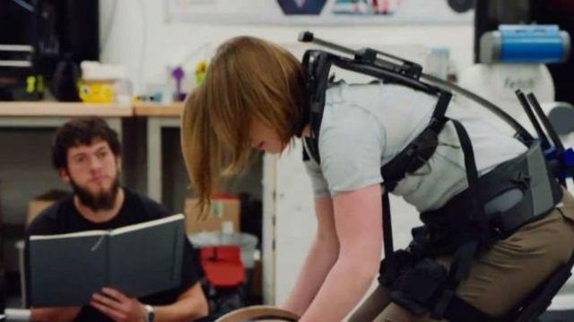การทดลองใช้ Exoskeleton พบว่าช่วยผ่อนแรงในขณะที่เดินลงได้ 25%