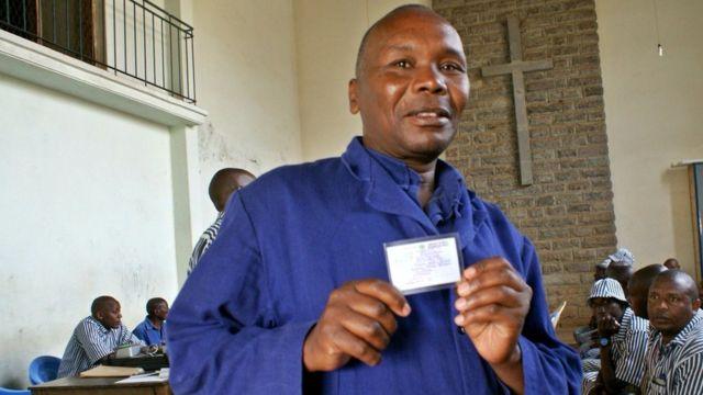 Ronald Mwachie amesajiliwa na atashiriki katika uchaguzi huo kwa mara ya kwanza
