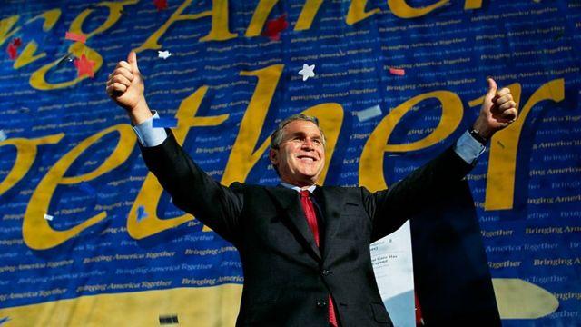 George Bush en 2000