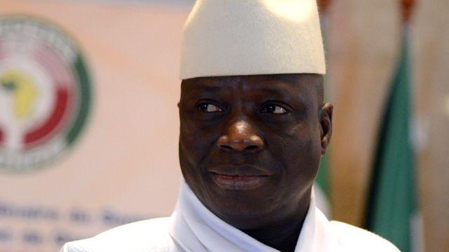Umukuru wa Gambia Yaya Jammeh