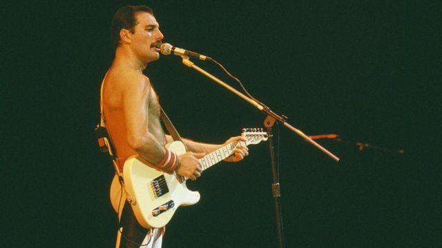 Freddie Mercury en Brazil, en 1985
