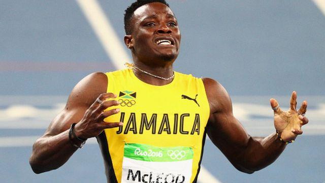 Omar Mcleod à Rio en 2016 sera de la délégation de Londres
