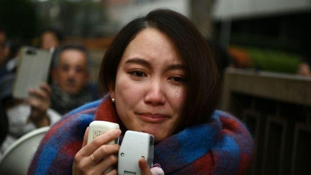 टोक्योको अदालतबाहिर इटोले फैसलापछि पत्रकारहरूसँग प्रतिक्रिया दिएकी थिइन्।