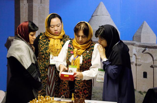 مسابقات جهانی شطرنج زنان در تهران
