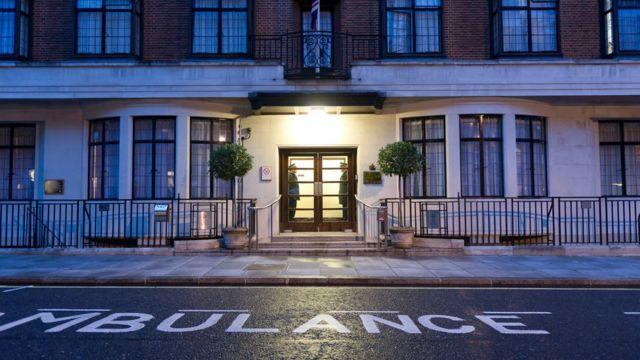 King Edward VII Hospital (library image)