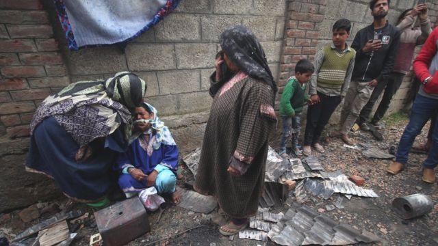 বিচ্ছিন্নতাবাদীর মৃত্যুতে স্বজনহারার আহাজারি