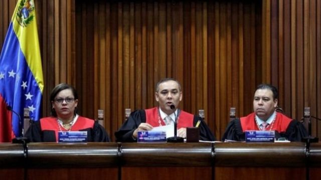 Magistrados del Tribunal Supremo de Justicia