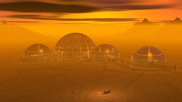 колония на чужой планете