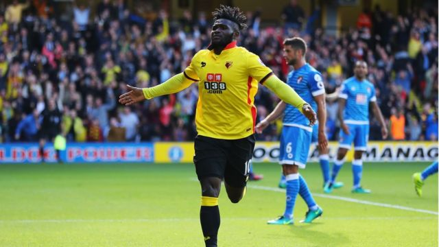 Deuxième but de Isaac Success de Watford face à Bournemouth