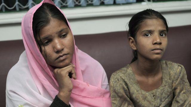 सिद्रा आणि ईशाम या आसियांचा मुली