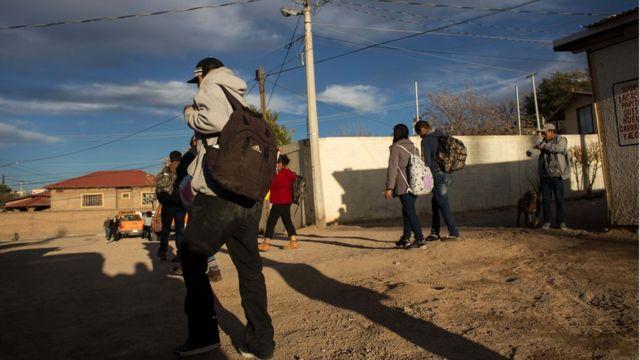 Nogales, México, cerca de la frontera con Estados Unidos