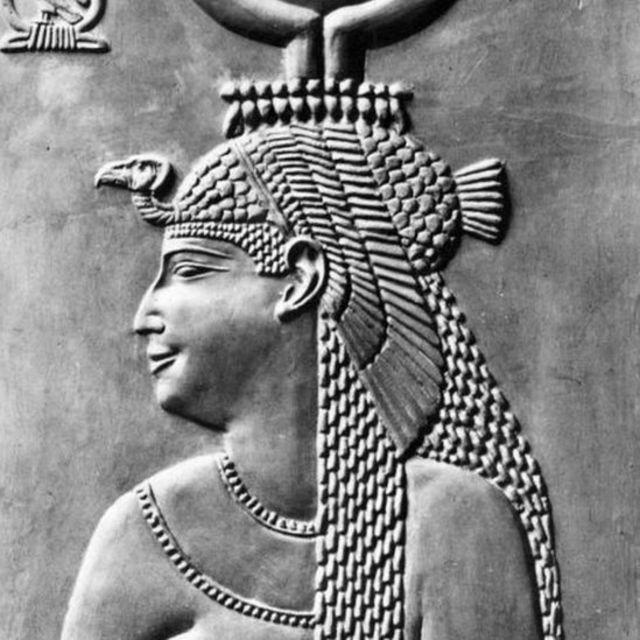 Un relieve de Cleopatra