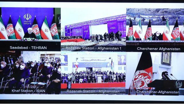 افتتاح قطار خواف-هرات