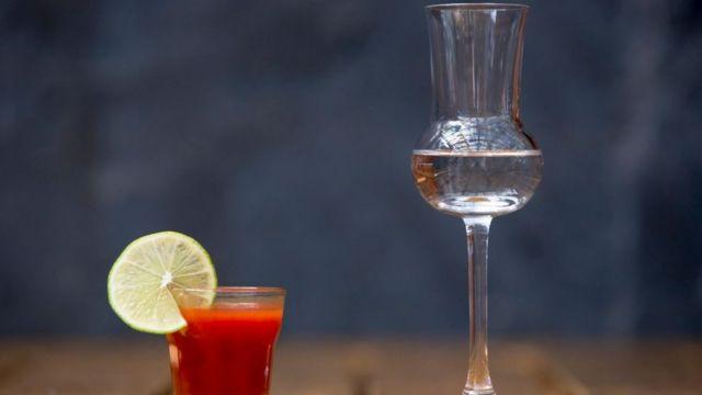 Bebida alcohólica.