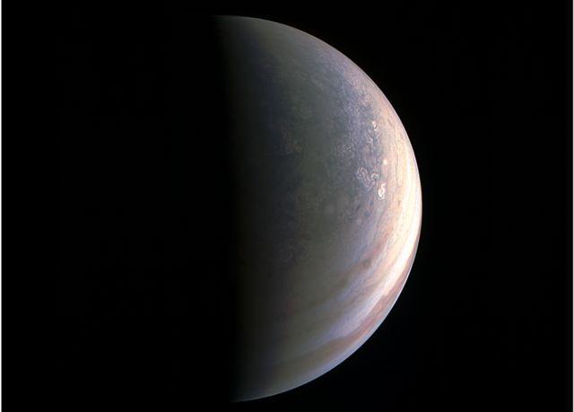 Северный полюс Юпитера