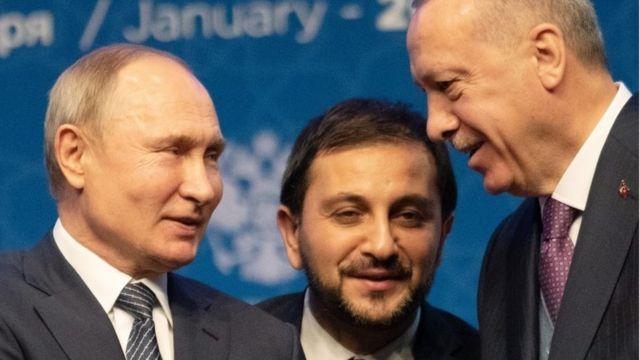 Putin ile Erdoğan