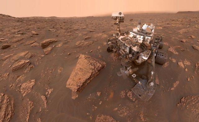 NASA'nın Mars'a gönderdiği uzay aracı Perseverence