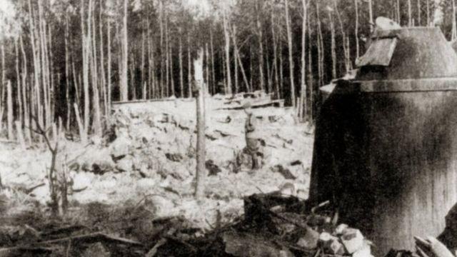 Руины ставки, 1944 год