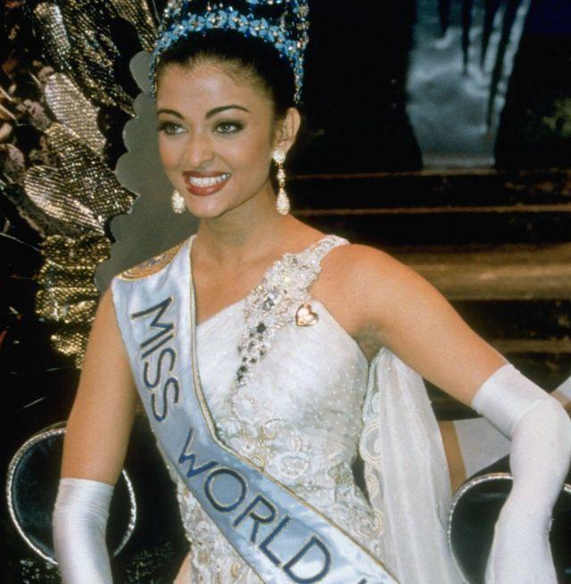1994년 미스 월드로 선발된 아이쉬와리아 라이