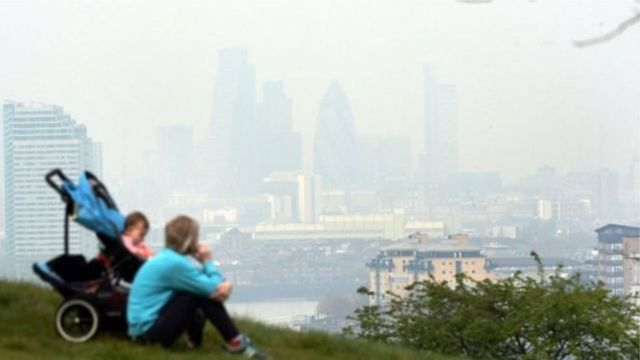 มลพิษทางอากาศในกรุงลอนดอน