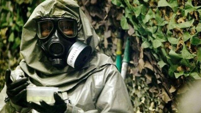 کیمیائی حملے سے بچاؤ کا سوٹ