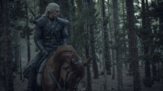Henri Kevil kao Geralt